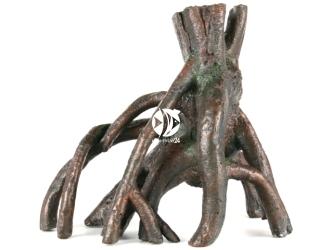 AQUA DELLA Root mangrove M [234-106228] | Ręcznie malowany korzeń mangrowca, CIEMNY do akwarium [wymiary - 37x21,5x33,5cm]