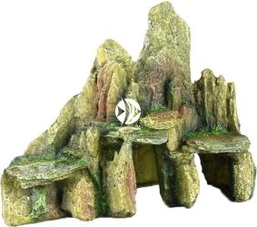 AQUA DELLA Stone Slate (234-104576) - Sztuczna grota, skały z mchem do akwarium