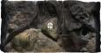 ATG Tło Amazonka (AM50x30) - Tło do akwarium z motywami korzeni i skał, imitujące biotop Amazonii. 50x30 cm