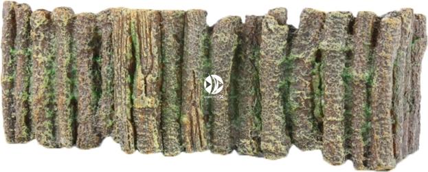 AQUA DELLA Wood Barrier L (234-106136) - Drewniany płot, ogrodzenie, dekoracja do akwarium