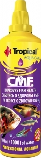 TROPICAL CMF 100ml (32184) - Preparat leczniczy na ospę rybią(kulorzęska), grzyby, bakterie, pateogeny.