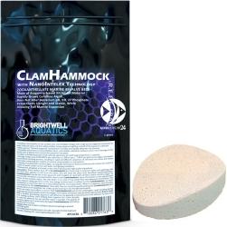 BRIGHTWELL AQUATICS Clam Hammock (XPCACB1) - 3.00 x 2.25 cala, ceramiczna podstawka pod koralowce
