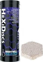 BRIGHTWELL AQUATICS Xport-Ca R.E.E.F. HeXiDiscs (XPCAHD10) - 1.00x1.75x0.50 cala, ceramiczna podstawka pod koralowce