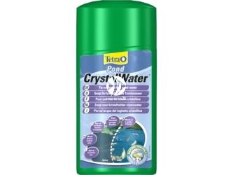 Tetra Pond CrystalWater | Środek błyskawicznie usuwający zmętnienie i widoczne dla oczu zanieczyszczenia w oczku wodnym.