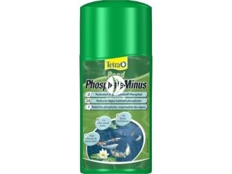 Tetra Pond PhosphateMinus 250ml (T163188) | Środek usuwający fosforany które stanowią pożywkę dla glonów w oczku wodnym.