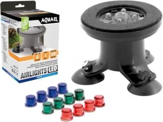 AQUAEL AIRLIGHTS LED (110341) | Końcówka napowietrzająca do akwarium z modułem LED