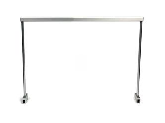 NuniQ stelaż aluminiowy 90HS (90HS) - Stelaż aluminiowy do podwieszenia lampy akwariowej, wymiary 904x20x347mm