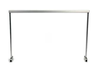 NuniQ stelaż aluminiowy 120HS (120HS) - Stelaż aluminiowy do podwieszenia lampy akwariowej, wymiary 1204x20x347mm