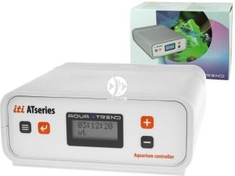 AQUA TREND iti ATseries (AT0008) - Komputer akwarystyczny z funkcją pomiaru pH, kontrolą temperatury i dolewką do akwarium