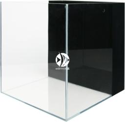 VIV Akwarium z panelem filtracyjnym 40x40x40cm [64l] (804-02) - Wysokiej jakości akwarium z super transparentnego szkła i przestrzenią na media filtra