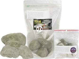 BENIBACHI Mironekuton (100%) (e4BENIMS50) - Rzadki japoński minerał, skałki poprawiające jakość wody w krewetkarium