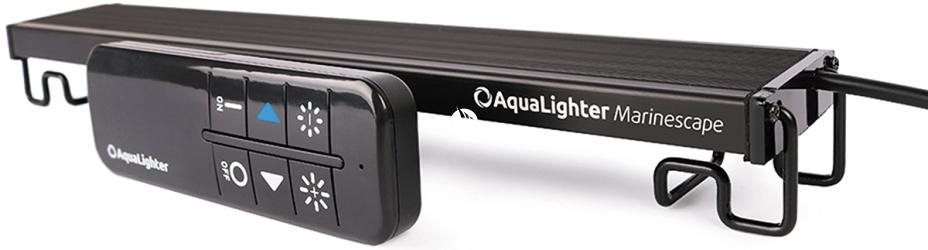 AQUALIGHTER Marinescape 30cm (8784) - Oświetlenie Led do akwarium morskiego i rafowego ze zdalnym sterowaniem, długość 300mm, Marine