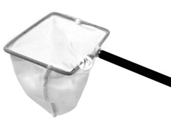 CHIHIROS Scoop Net 7.5x10cm (347-3004) - Solidna siatka z teleskopową rączką do łowienia krewetek i ryb akwariowych