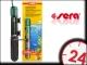 SERA GRZAŁKA 50W (08710) - Wysokiej jakości kwarcowa grzałka do akwarium z termostatem