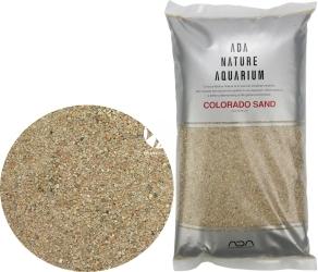 ADA Colorado Sand (106-508) - Piasek dekoracyjny do akwarium w kolorze lekko czerwonym.