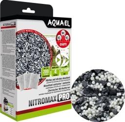 AQUAEL NitroMax PRO (106622) - Woreczki fizelinowe wypełnione żywicą jonowymienną, pochłaniającą NH4, NO2 i NO3 z wody akwariowej