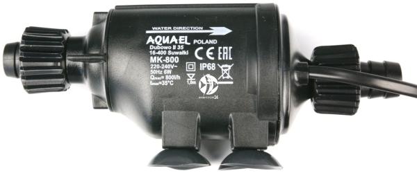 AQUAEL MK-800 (110411) - Pompa przepływowa do filtrów akwarystycznych.