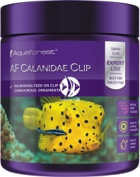 AQUAFOREST AF Calanidae Clip - Wysoko odżywczy pokarm dla wszystkich drobnych, morskich ryb ozdobnych.