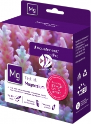 AQUAFOREST TestPro Mg Magnesium - Test przeznaczony do szybkiego pomiaru stężenia magnezu w akwarium morskim.