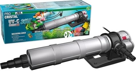 JBL ProCristal UV-C Compact Plus 36W (60397) - Sterylizator do szybkiego usuwania zmętnienia wody