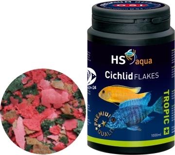 O.S.I. Cichlid Flakes (0030222) - Pływająco tonący pokarm w płatkach dla pielęgnic