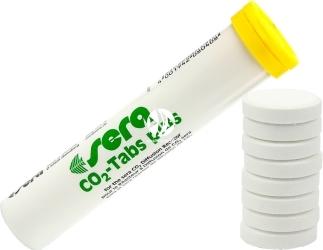 SERA CO2-Tabs Plus (08040) - Tabletki CO2 z minerałami dla roślin wodnych