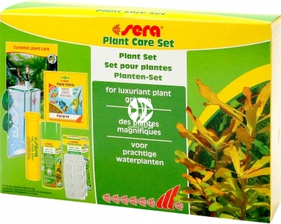 SERA Plant Care Set (03290) - Kompletny zestaw do nawożenia roślin akwariowych z dyfuzorem CO2