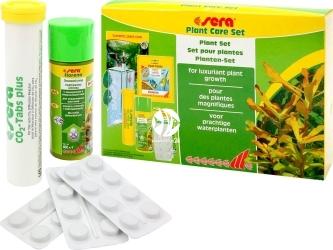 SERA Plant Care Set - Kompletny zestaw do nawożenia roślin akwariowych z dyfuzorem CO2