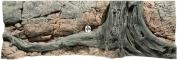 Back To Nature Amazonas (03000007) - Tło strukturalne z motywami drewna i skał do akwarium 150x50cm