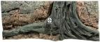 Back To Nature Amazonas (03000007) - Tło strukturalne z motywami drewna i skał do akwarium 120x50cm