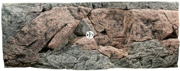 Back To Nature Rocky (03000016) - Tło strukturalne z motywami skalnymi  do akwarium