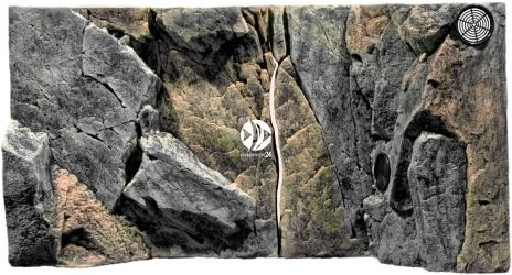 Back To Nature Rocky Juwel (03000022) - Tło strukturalne z motywami skalnymi do akwarium Juwel.