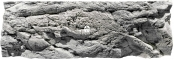Back To Nature Malawi White (03000039) - Tło strukturalne z motywami skalnymi do akwarium 200x60cm