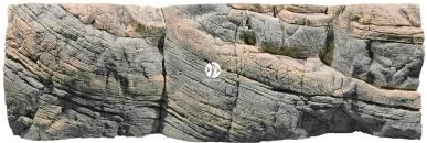 Back To Nature Tanganyika (03000043) - Tło strukturalne z motywami skalnymi do akwarium