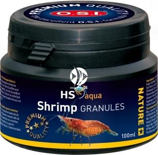 O.S.I. Shrimp Granules 100ml (45g) (0030270) - Wolno tonący pokarm granulowany dla krewetek słodkowodnych