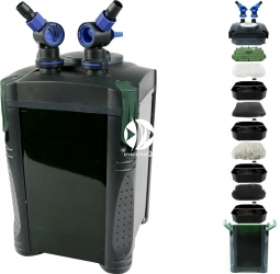 AQUA NOVA NCF-1500 (NCF-1500) - Filtr zewnętrzny do akwarium maks. 300l