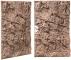 Back To Nature Slim Line Red Gneiss (03000083) - Płaskie tło modułowe z motywem skalnym do akwarium i terrarium 80A 48x80cm