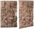 Back To Nature Slim Line Red Gneiss (03000083) - Płaskie tło modułowe z motywem skalnym do akwarium i terrarium 80B  48x80cm