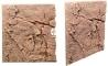 Back To Nature Slim Line Red Gneiss (03000083) - Płaskie tło modułowe z motywem skalnym do akwarium i terrarium 60A 50x55cm