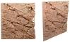 Back To Nature Slim Line Red Gneiss (03000083) - Płaskie tło modułowe z motywem skalnym do akwarium i terrarium 60B 50x55cm