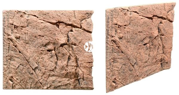 Back To Nature Slim Line Red Gneiss (03000083) - Płaskie tło modułowe z motywem skalnym do akwarium i terrarium