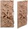 Back To Nature Slim Line Red Gneiss (03000083) - Płaskie tło modułowe z motywem skalnym do akwarium i terrarium 50C 20x45cm