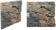 Back To Nature Slim Line Basalt/Gneiss (03000095) - Płaskie tło modułowe z motywem skalnym do akwarium i terrarium 50B 50x45cm