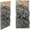 Back To Nature Slim Line Basalt/Gneiss (03000095) - Płaskie tło modułowe z motywem skalnym do akwarium i terrarium 50C 20x45cm
