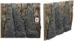Back To Nature Slim Line Amazonas (03000101) - Płaskie tło modułowe z motywem korzenia i skał do akwarium i terrarium 60A 50x55cm