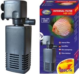 AQUA NOVA Internal Filter NBF-800 (NBF-800) - Wydajny filtr wewnętrzny do akwarium do 150l o mocy 15W