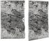 Back To Nature Slim Line River (03000110) - Płaskie tło modułowe z motywem skalnym do akwarium i terrarium 80B 48x80cm