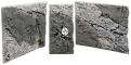 Back To Nature Slim Line River (03000110) - Płaskie tło modułowe z motywem skalnym do akwarium i terrarium 50A 50x45cm