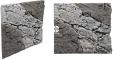 Back To Nature Slim Line River (03000110) - Płaskie tło modułowe z motywem skalnym do akwarium i terrarium 50B 50x45cm