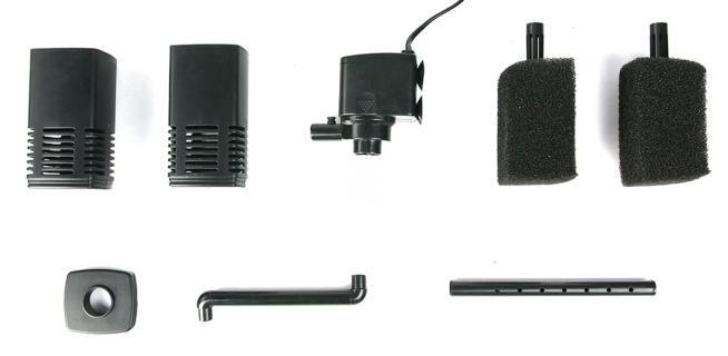 AQUA NOVA Internal Filter NBF-1200 (NBF-1200) - Wydajny filtr wewnętrzny do akwarium do 200l o mocy 25W